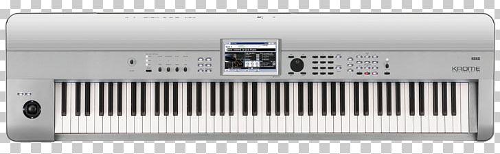 Korg Kronos KORG Krome 88 Music Workstation Keyboard PNG