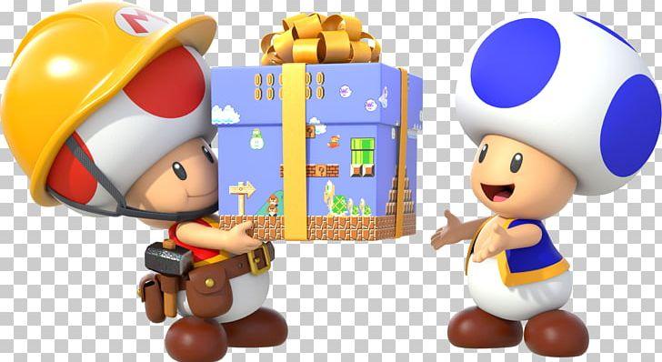 Super Mario Maker Wii U Toad Super Mario Bros  PNG, Clipart