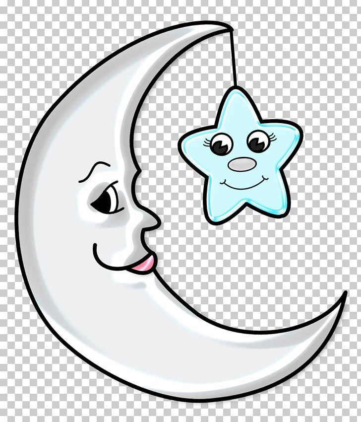 Moon Png Clipart Art Black And White Cartoon Circle