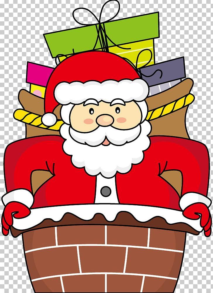 Santa Claus Christmas Drawing Illustration Png Clipart