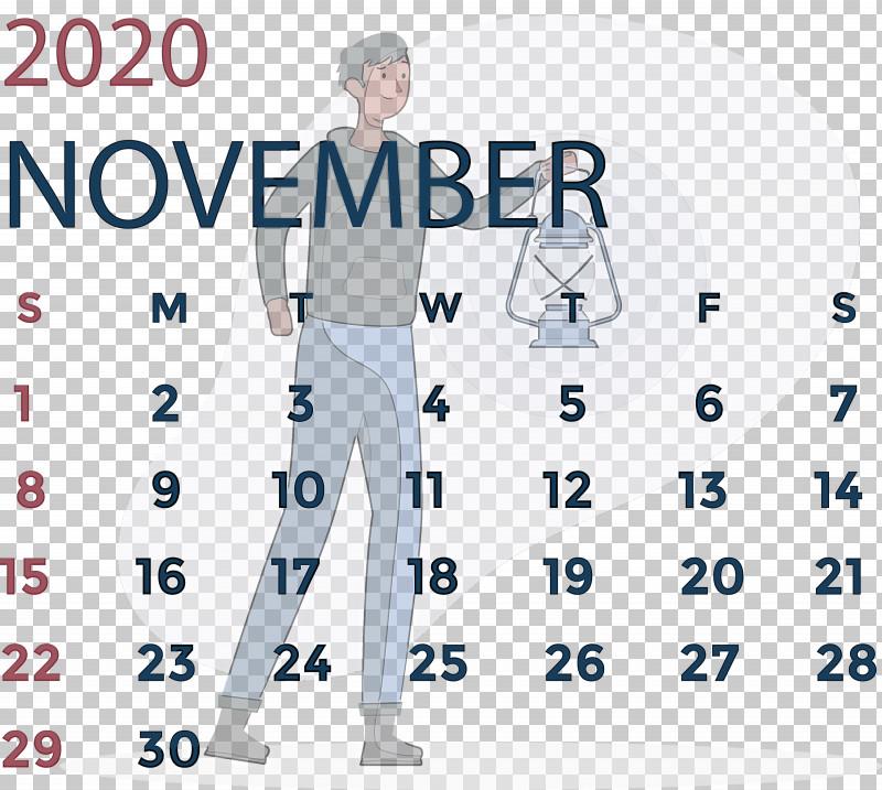 November 2020 Calendar November 2020 Printable Calendar PNG, Clipart, Area, Line, November 2020 Calendar, November 2020 Printable Calendar, Outerwear Free PNG Download