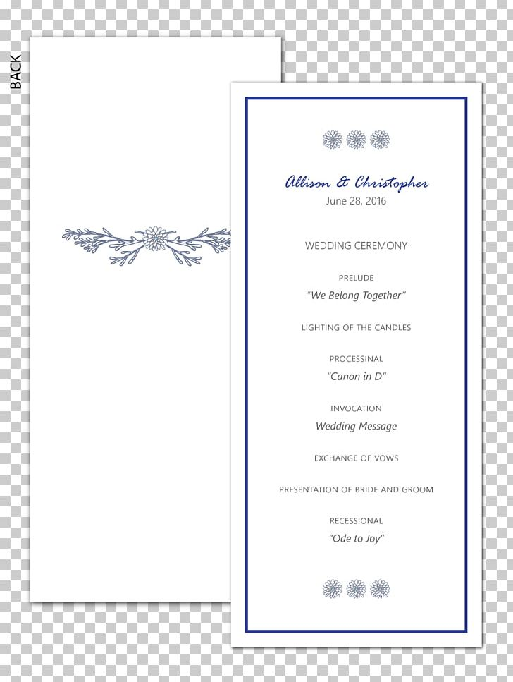Wedding Invitation Paper Greeting