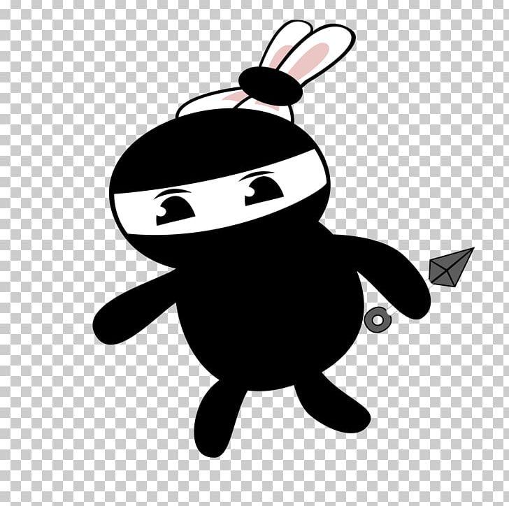 Rabbit Ninja PNG, Clipart, Balloon Car, Black, Blog, Bunny, Cartoon Free PNG Download