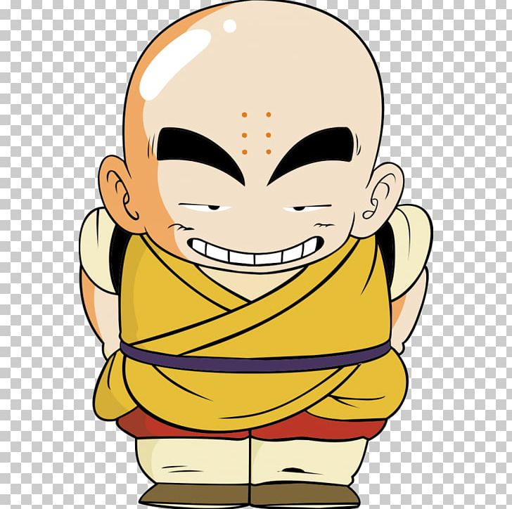 Krillin Piccolo Kid Coloring Page Goku Dragon Ball Png Clipart