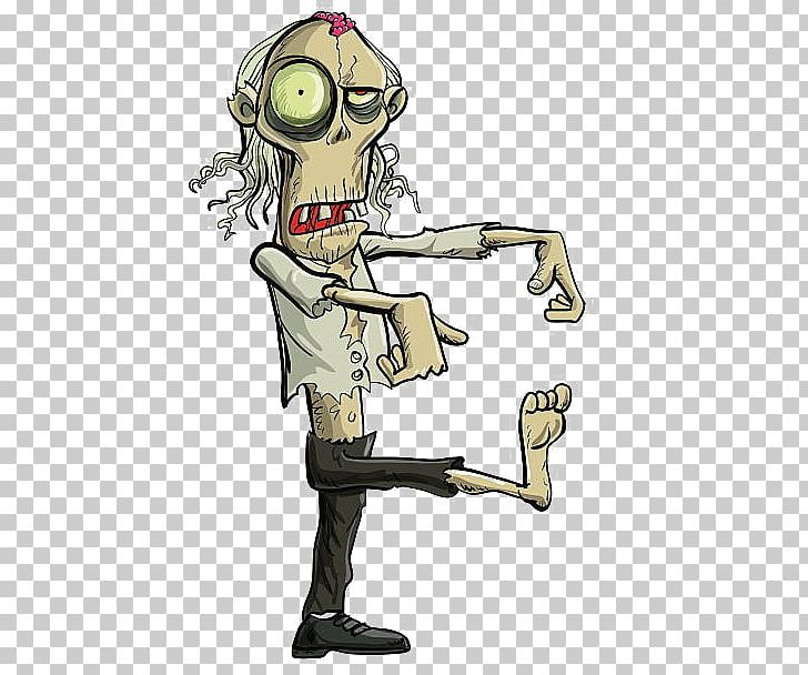 Cartoon Zombie Walk Png Clipart Art Background Size