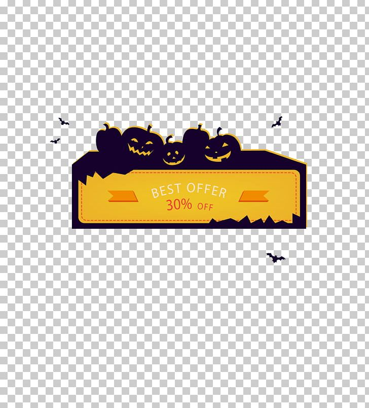 Halloween Web Banner Gratis PNG, Clipart, Area, Banner, Bat, Brand, Cute Free PNG Download