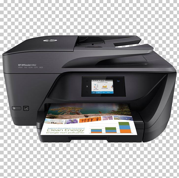 Hewlett Packard Hp Officejet 6962 Hp Officejet Pro 8720 Multi Function Printer Png Clipart Allinone Brands