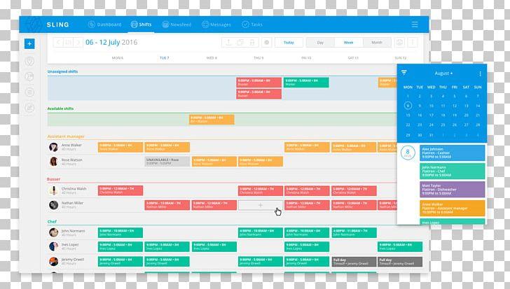 Schedule Employee Scheduling Software Management Computer