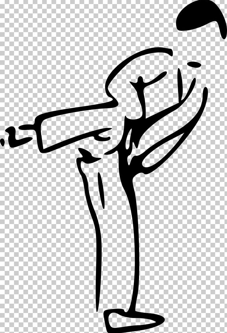 Karate Martial Arts Kick PNG, Clipart, Artwork, Black, Black And White, Computer Icons, Finger Free PNG Download