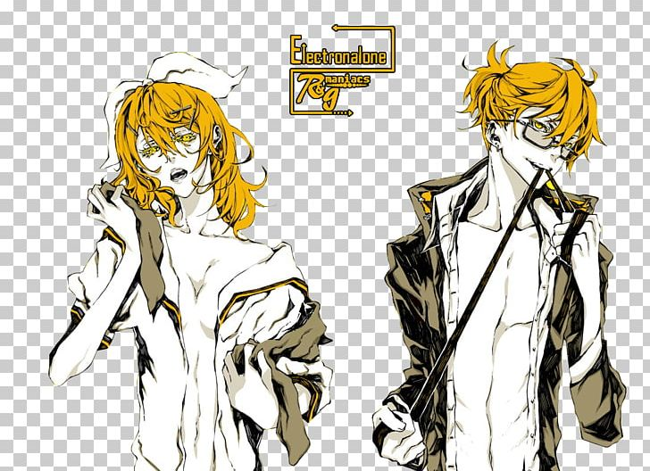 Kagamine Rin/Len Vocaloid Anime Manga Drawing PNG, Clipart, Free PNG