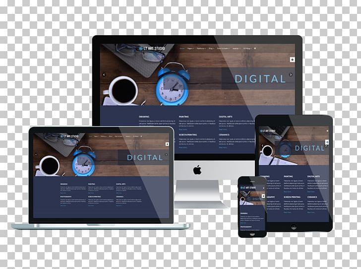 Responsive Web Design Web Template System Joomla Template Monster Png Clipart Brand Content Management System Electronics