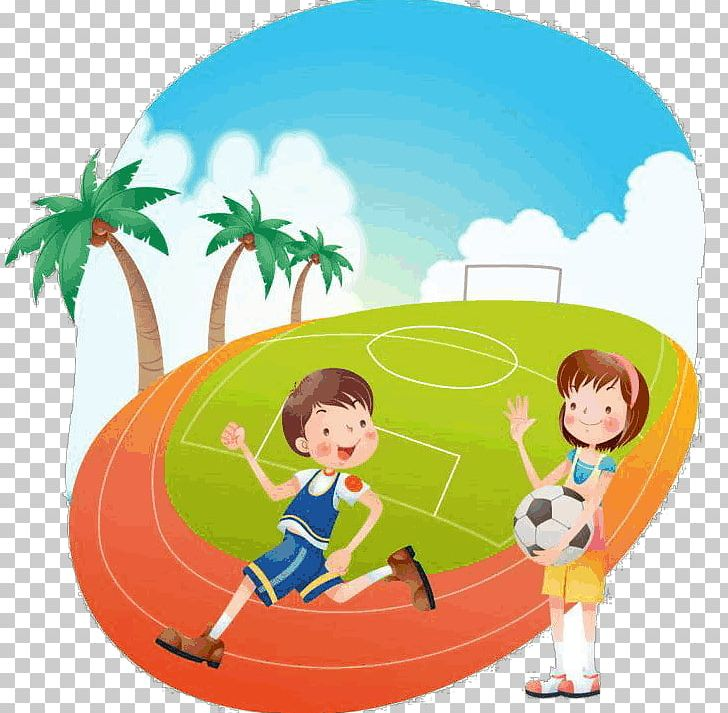 Stadium Schoolyard Football Pitch Sport PNG, Clipart, Allweather Running Track, Animation, Area, Ball, Blue Free PNG Download