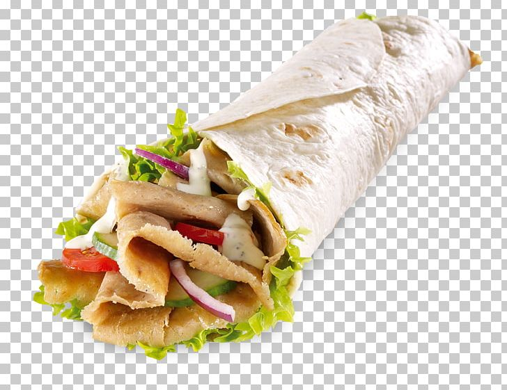 Doner Kebab Wrap Hamburger French Fries Png Clipart Appetizer Burrito Chicken Meat Cuisine Dessert Free Png
