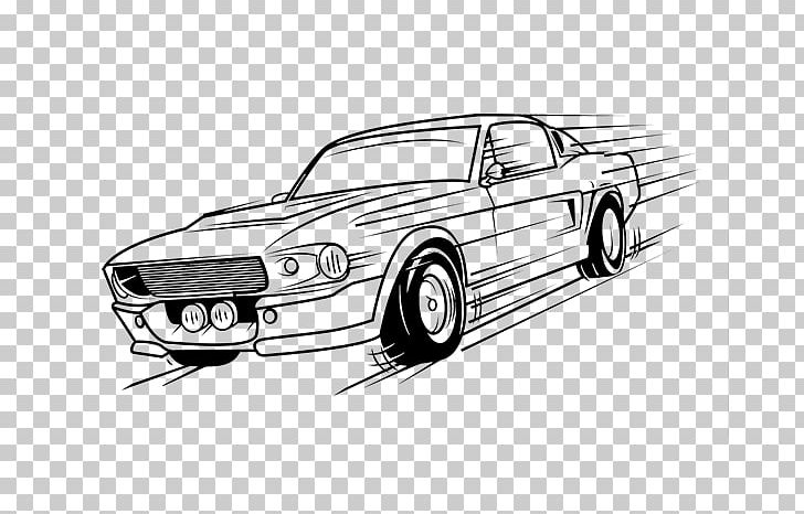 imgbin ford mustang car coloring book drawing retro style automobile J0hpQJu3jn7NB1PQvgNhCMq8F