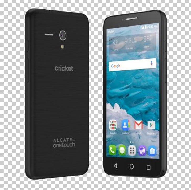 Alcatel Mobile Cricket Wireless Telephone Smartphone 4G PNG