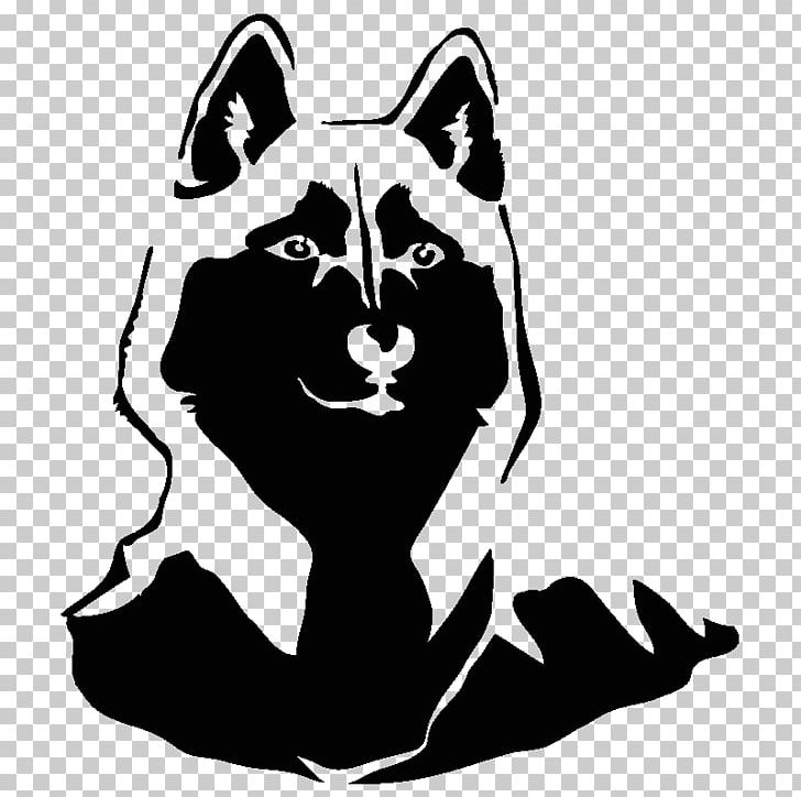 Whiskers Dog Cat Silhouette Png Clipart Animals Art Artwork Black Black And White Free Png Download