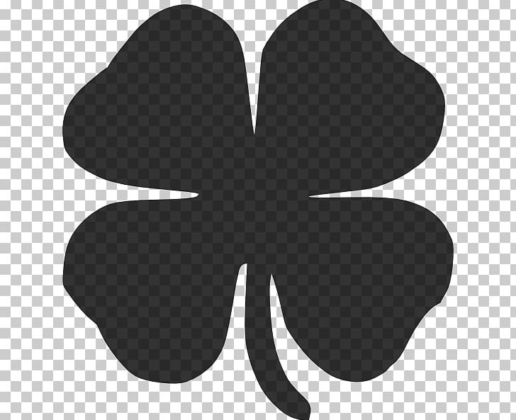 Shamrock Four-leaf Clover Saint Patricks Day PNG, Clipart, Black, Black And White, Clover, Fourleaf Clover, Free Content Free PNG Download