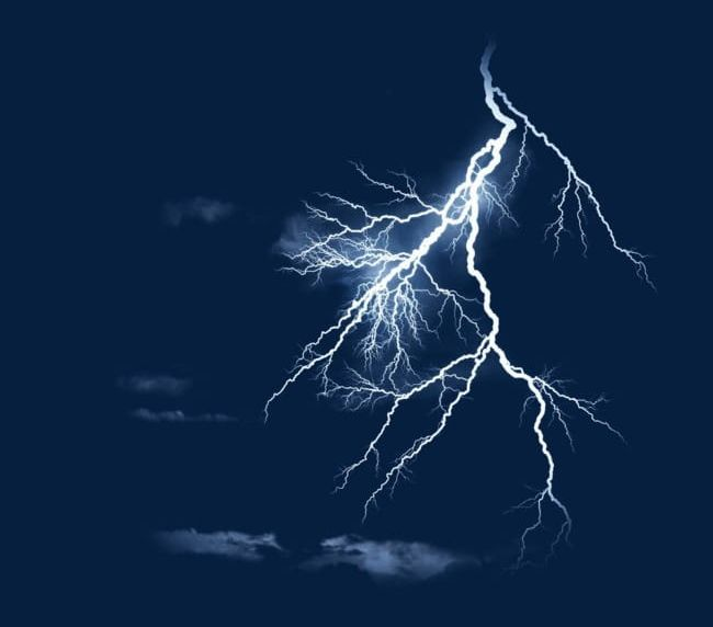 Blue Thunder And Lightning PNG, Clipart, Blue, Blue Clipart