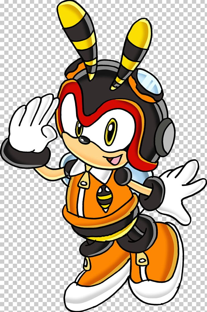 Charmy Bee Espio The Chameleon The Crocodile Sonic The Hedgehog Shadow The Hedgehog Png Clipart Animation