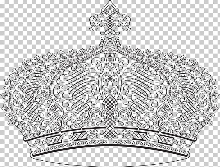 Crown Diadem Monarch PNG, Clipart, Art, Black And White, Clothing Accessories, Crown, Diadem Free PNG Download