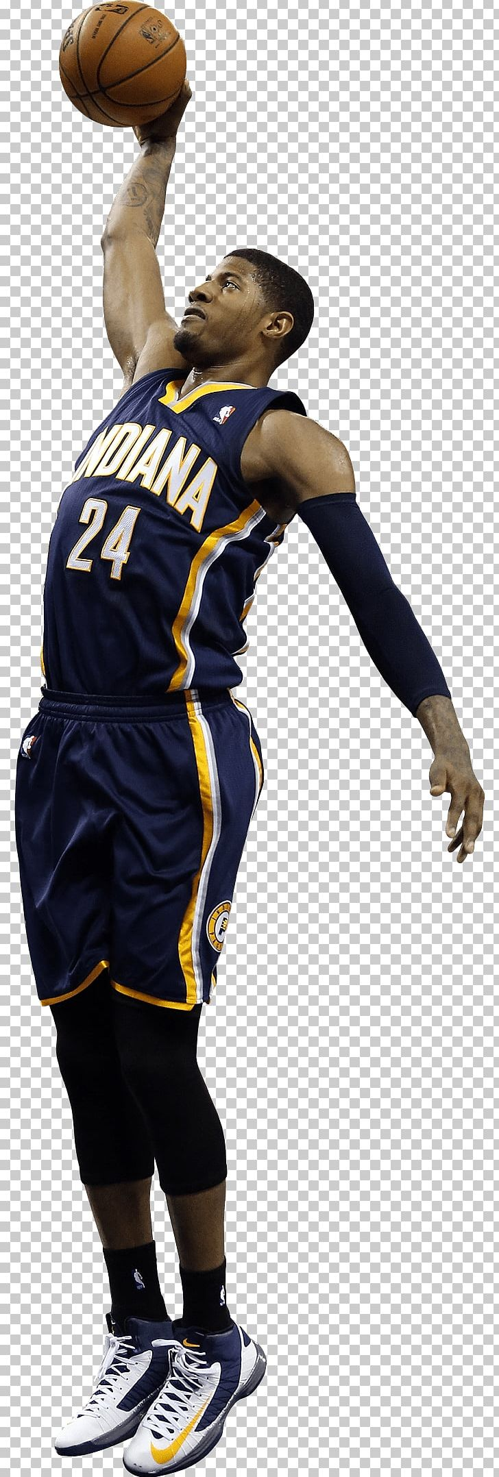 Paul George Indiana Pacers Basketball Slam Dunk PNG, Clipart, Ball Game, Basketball, Basketball Player, Competition Event, Indiana Pacers Free PNG Download