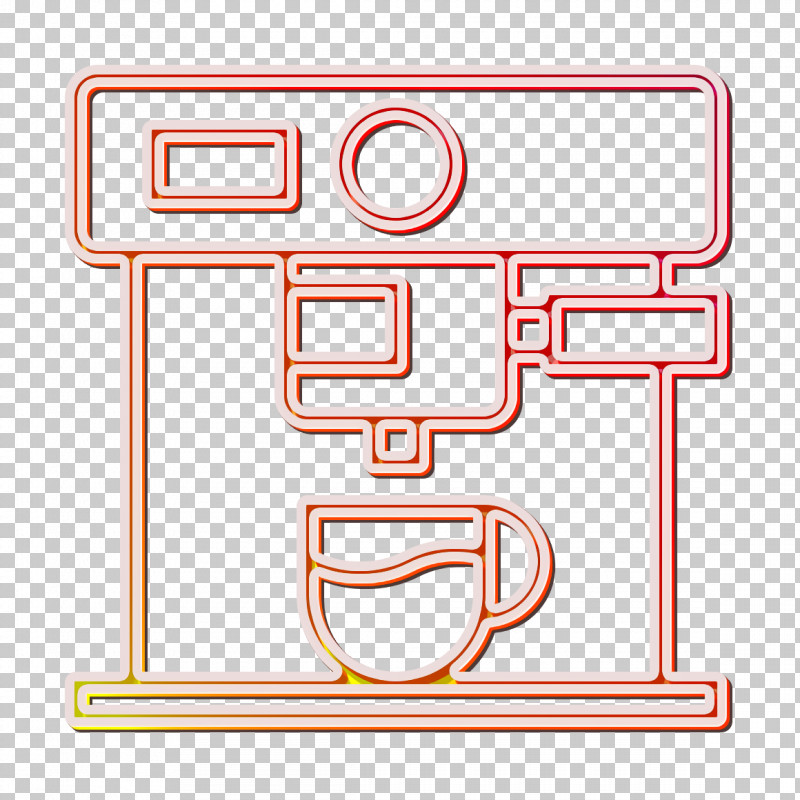 Coffee Shop Icon Food And Restaurant Icon Coffee Maker Icon PNG, Clipart, Coffee Maker Icon, Coffee Shop Icon, Food And Restaurant Icon, Line, Rectangle Free PNG Download