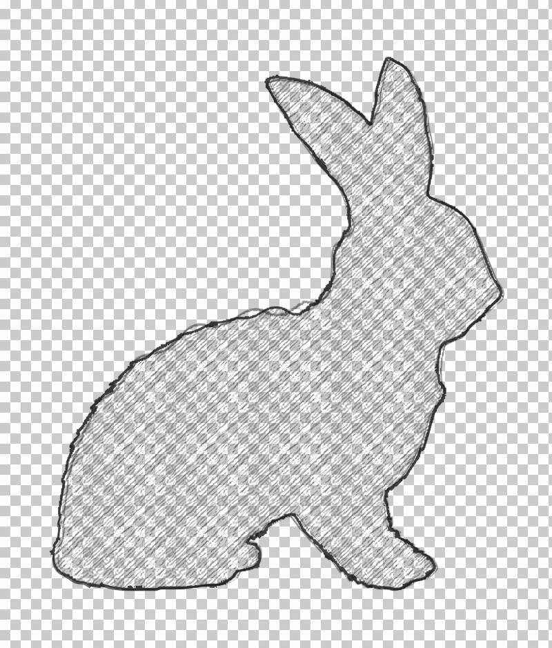 Rabbit Icon Rabbit Shape Icon Animals Icon PNG, Clipart, Animal Figurine, Animal Kingdom Icon, Animals Icon, Dog, Hare Free PNG Download