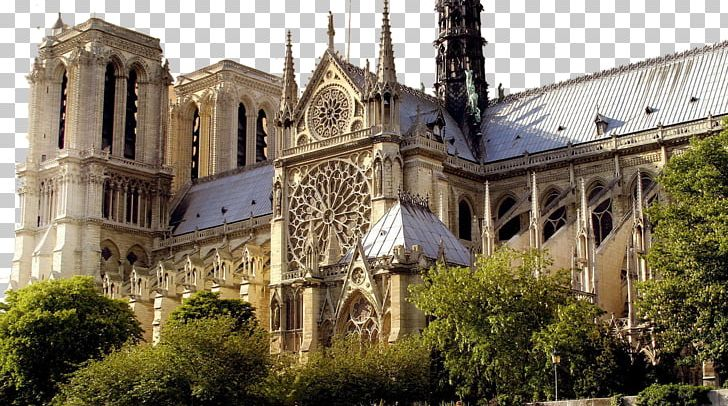 Notre-Dame De Paris Eiffel Tower Luxembourg Palace Strasbourg Cathedral PNG, Clipart, Building, Buildings, Cathedral, Chapel, Church Free PNG Download