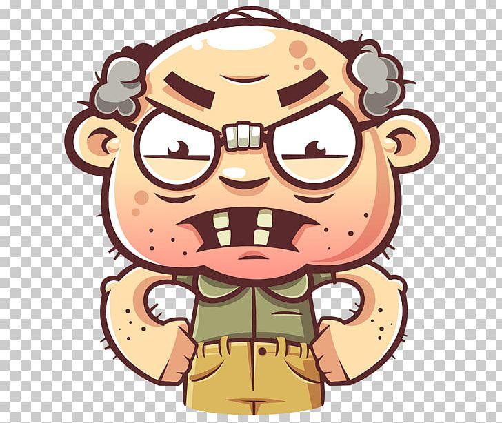 Telegram Sticker Наклейка Grandfather PNG, Clipart, Cartoon, Cloud Computing, Eyewear, Fiction, Fictional Character Free PNG Download