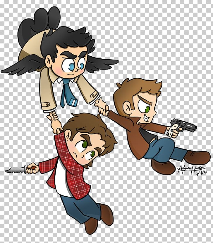 Castiel Sam Winchester Dean Winchester Crowley Drawing Png Clipart