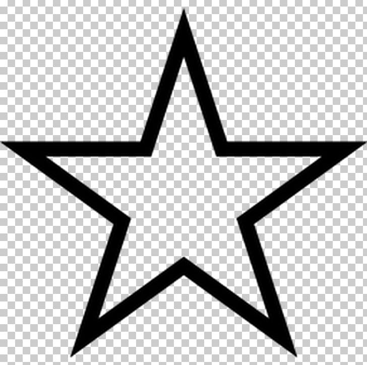 Star Png Clipart Angle Area Black And White Boyama Computer