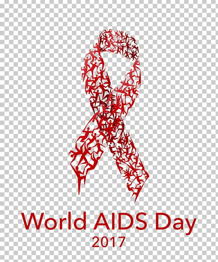 World AIDS Day HIV Infection 1 December Red Ribbon Health PNG, Clipart, 1 December, 2017, Aids, Area, Awareness Ribbon Free PNG Download