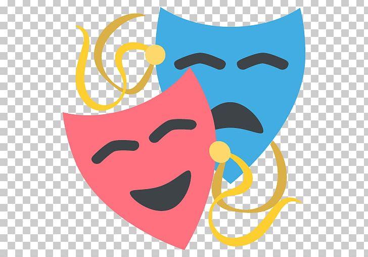 Emoji Theatre Mask Art Drama PNG, Clipart, Art, Drama, Emoji