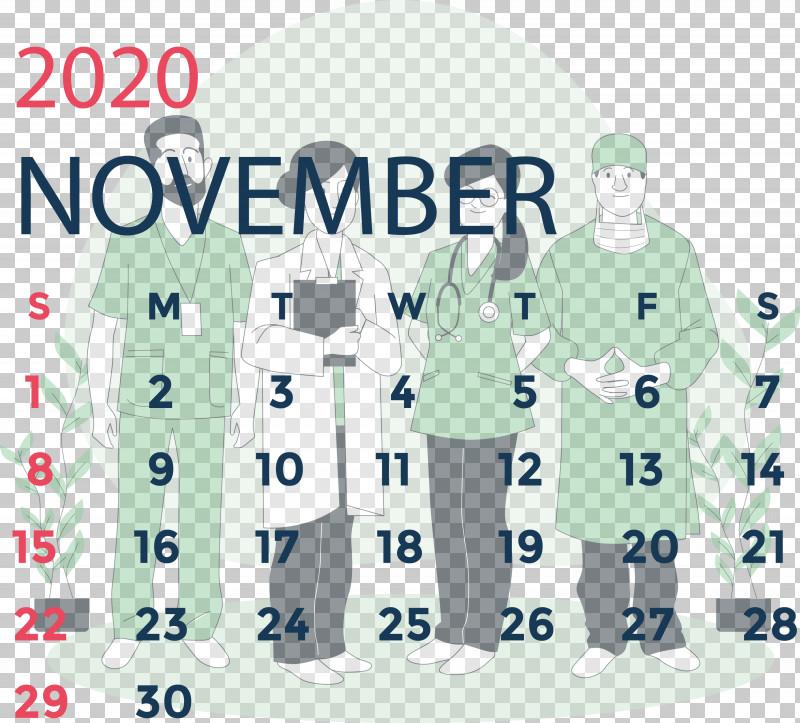 November 2020 Calendar November 2020 Printable Calendar PNG, Clipart, Diepenbeek, Jersey, Meter, November 2020 Calendar, November 2020 Printable Calendar Free PNG Download