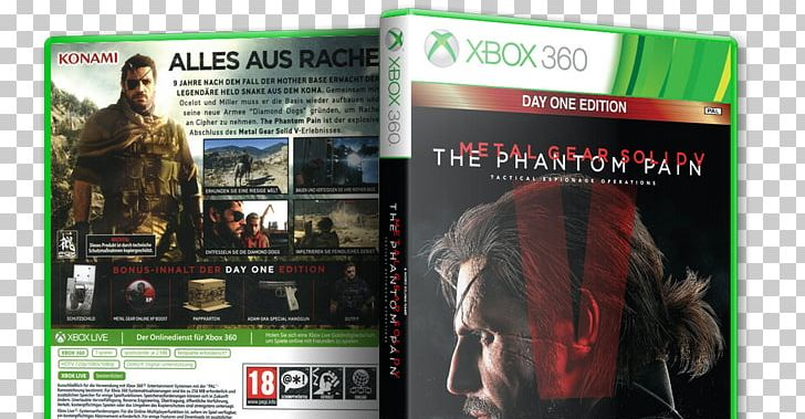 Xbox 360 Metal Gear Solid V: The Phantom Pain Video Game