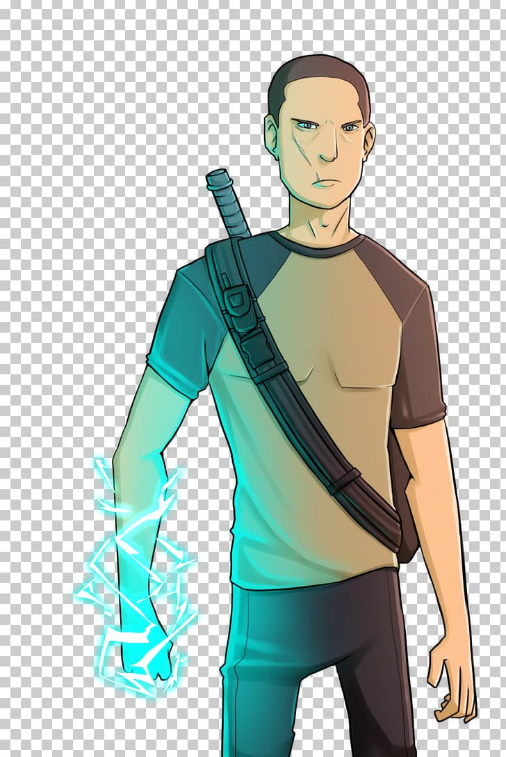 Infamous 2 Cole Macgrath Video Game Speed Painting Png