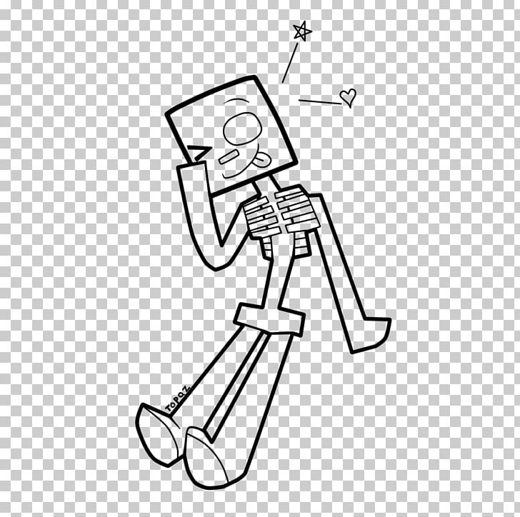 Minecraft Coloring Book Skeleton Drawing Enderman PNG, Clipart ...