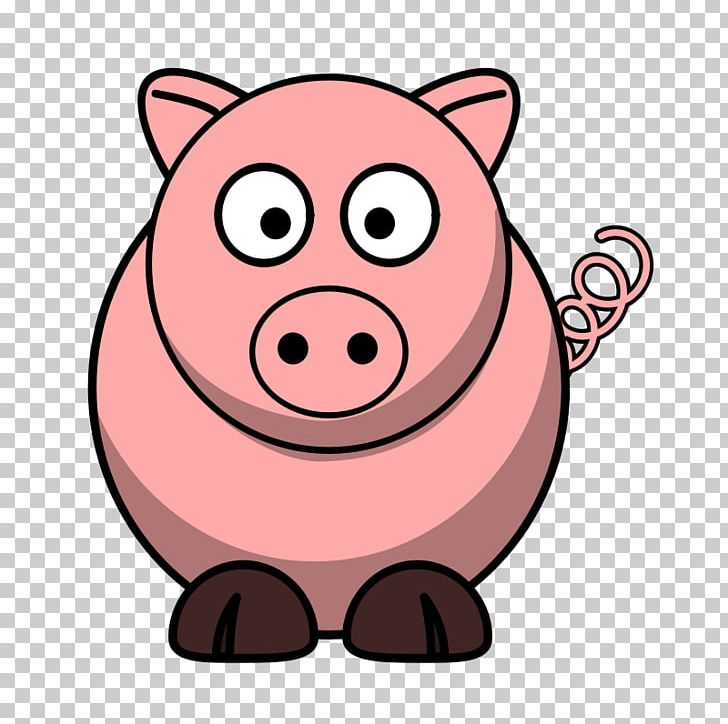 Domestic Pig Cartoon The Three Little Pigs PNG, Clipart, Animation, Cartoon, Clip Art, Cow, Cow Outline Free PNG Download