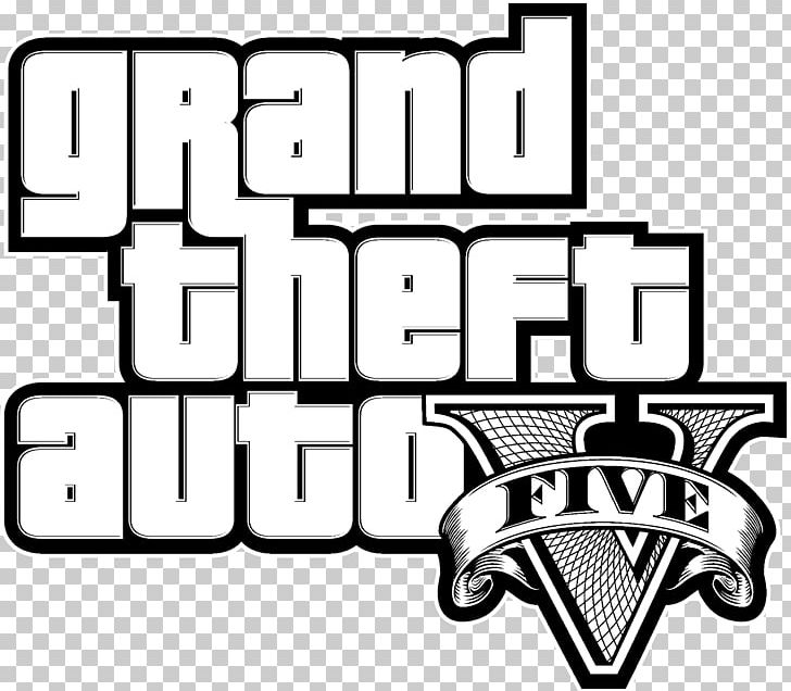 Grand Theft Auto V Logo Graphics Loading Screen PNG, Clipart
