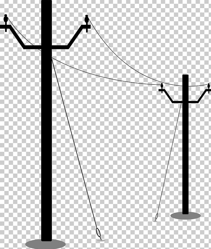 Utility Pole Electricity Overhead Power Line PNG, Clipart, Angle