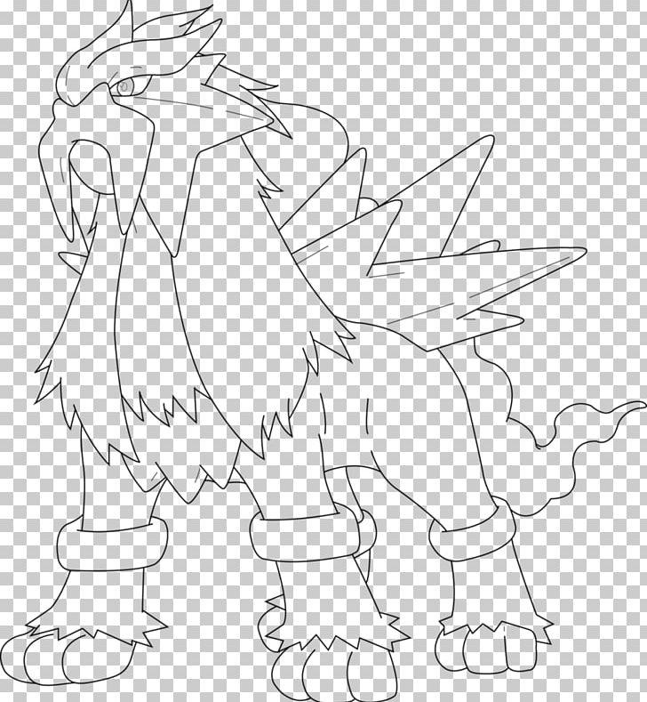 Entei Drawing Coloring Book Pokémon Raikou Png Clipart