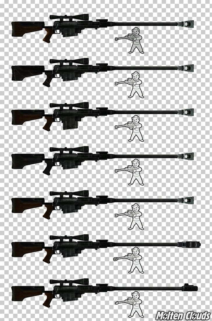 Anti Materiel Rifle firearm fallout: new vegas line anti-materiel rifle angle