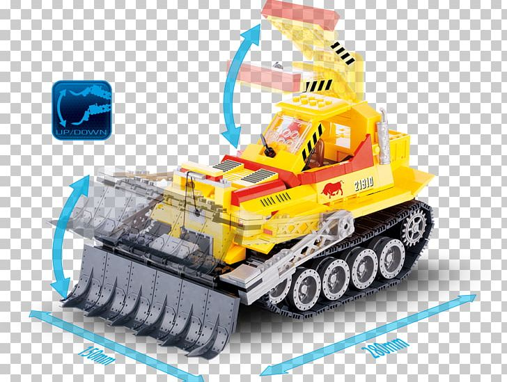 Toy Block Cobi Vehicle Bulldozer PNG, Clipart, Architectural Engineering, Bulldozer, Cobi, Electronics, Lego Free PNG Download