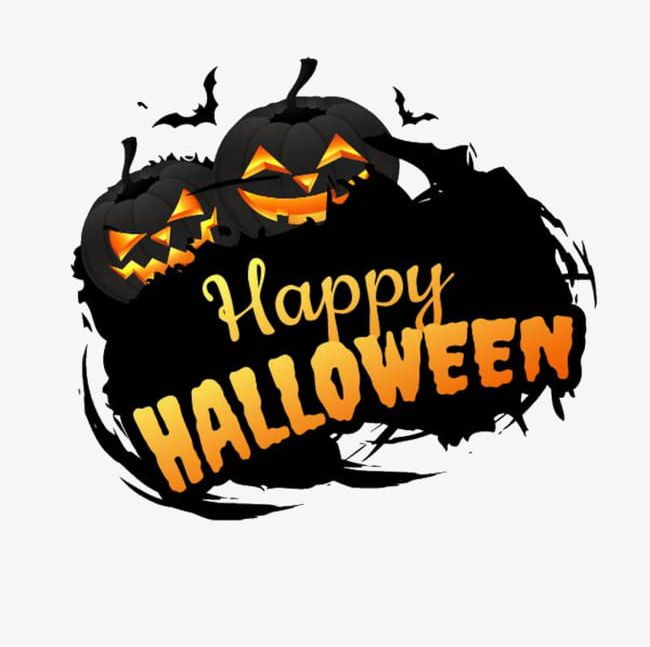 Halloween happy. Png clipart bat black
