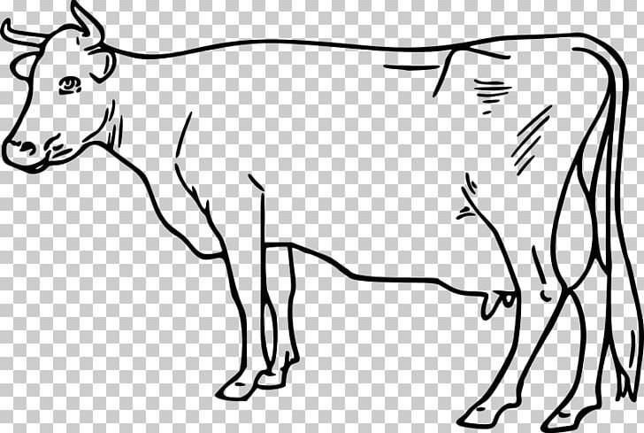 Ayrshire Cattle Taurine Cattle Goat Drawing PNG, Clipart