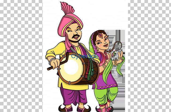 Lohri Dhol Punjabis Bhangra Vaisakhi PNG, Clipart, Art, Bhangra, Cartoon, Culture, Dance Free PNG Download