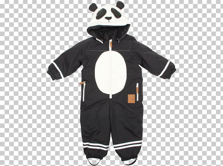 61d1235a31c10c Alaska Panda Baby Overall Boilersuit Mini Rodini Pico Overalls Mini Rodini  Black Alaska Baby Snowsuit With ...