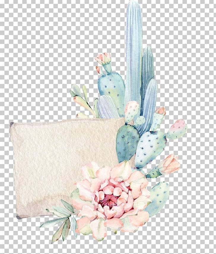 Cactaceae Succulent Plant Watercolor Painting Textile PNG, Clipart, Beautiful, Botany, Breath, Cactus, Creativity Free PNG Download