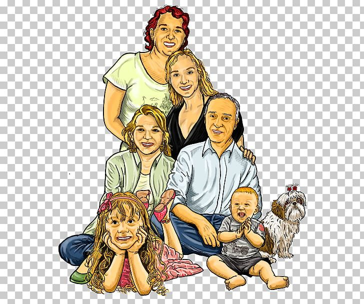 Family Drawing Society Png Clipart Animated Cartoon Art Brazilian Comics Cartoon Child Free Png Download