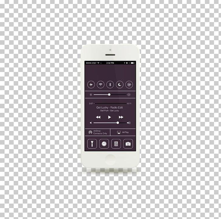 Iphone design. S flat user interface